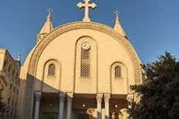 حريق بكنيسة فى المنيا