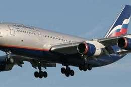 هبوط اضطراري لطائرة روسية
