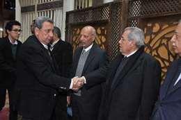 """بالصور.. وزراء سابقين في عزاء الناقد """"علي أبو شادي"""""""
