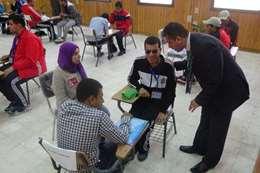 مسابقات العاقين بالجامعت المصرية فى المنيا
