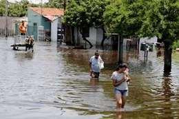 الفيضانات في أمريكا
