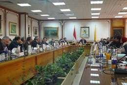 مجلس جامعة المنيا