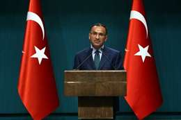 المتحدث باسم الحكومة التركية، بكر بوزداغ