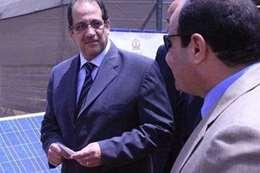 الرئيس عبدالفتاح السيسى واللواء عباس كامل
