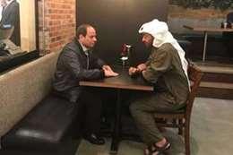 السيسي و محمد بن زايد