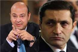 علاء مبارك و عمرو أديب