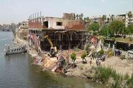 إزالة التعديات على النيل (أرشيفية)