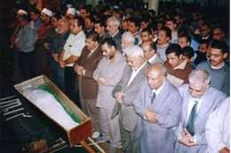 جنازة مصطفي مشهور