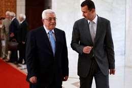 أبو مازن : نرحب بالأسد في الجامعة العربية