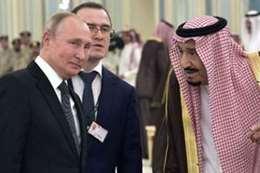 العاهل السعودي والرئيس الروسي