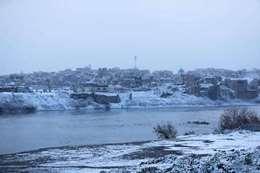 الثلوج تغطي العراق