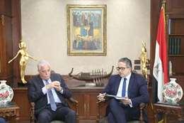 وزير السياحة والاثار ومحافظ جنوب سيناء