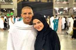 محمد زيدان وزوجته
