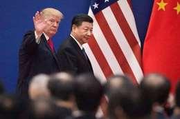 الرئيس الصيني والرئيس الامريكي