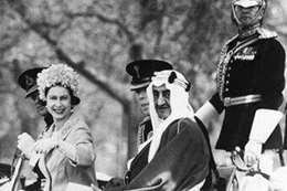 استقبال مهيب في بريطانيا للملك فيصل