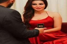 شيما الحاج وخطيبها