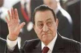 مشاهد مؤثرة من جنازة مبارك