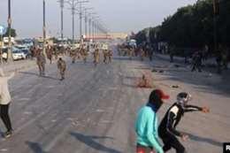 قطع الطرق  شرق العراق