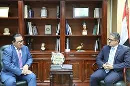 سفير كازاخستان  ووزير السياحة