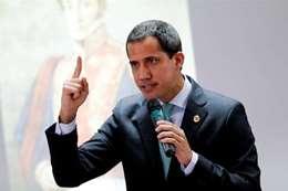 """زعيم المعارضة الفنزويلي """"خوان جوايدو"""""""
