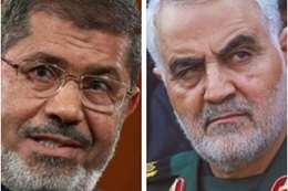 مرسي وسليماني