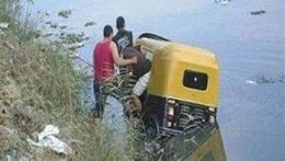 غرق سائق توك توك في ترعة جنوب الأقصر