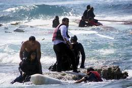 غرق 9 مهاجرين ببحر إيجة التركى
