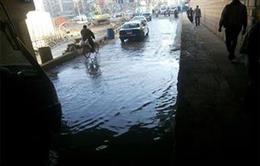 المرور: كسر ماسورة مياه بنفق أمام أكاديمية الشرطة