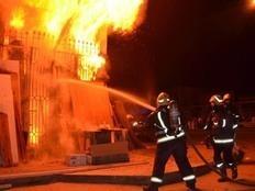 الحماية المدنية تسيطر على حريق نشب بأحد الفنادق بشرم الشيخ
