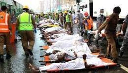 """المغرب: وفاة 3 مواطنين في حادثة التدافع بـ""""منى"""""""