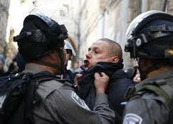 جيش الاحتلال يعتقل 4 متظاهرين فلسطينيين على حدود غزة