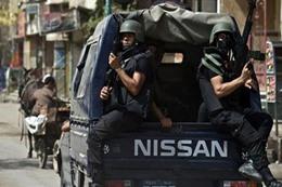 الشرطة المصرية تضبط المتهمين