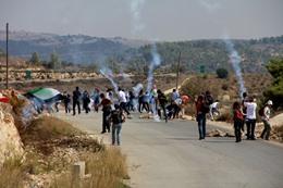 مواجهات مع الاحتلال بالضفة