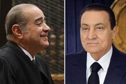 فريد الديب والرئيس الاسبق حسنى مبارك