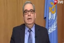 جون جبور، ممثل منظمة الصحة العالمية بمصر