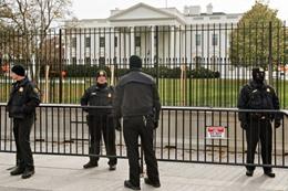 إغلاق البيت الأبيض بسبب جسم مشبوه