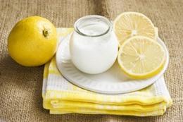 خليط الليمون والزبادي يقضى على الطفيليات