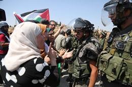 الاحتلال يقمع مسيرات يوم الأرض