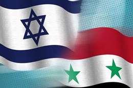 علم إسرائيل وسوريا