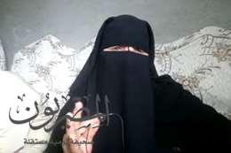 فايزة عبد العاطى الحاصلة على المركز الثاني  للأم  المثالية على مستوى محافظة الغربية