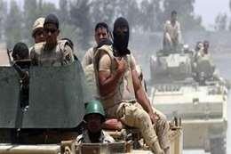 قوات الجيش في سيناء