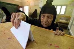 كبار السن فى الانتخابات