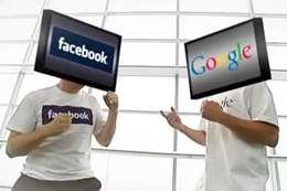 جوجل و فيس بوك