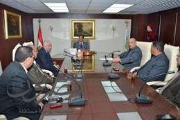 محافظ الغربية يجتمع بمجلس الأمناء على مستوى الإدارات التعليمية العشرة