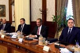 اجتماع الحكومة بحضور الوزير