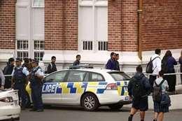 اطلاق النار على مسجد في  نيوزيلند