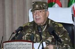 رئيس الأركان الجزائري قايد صالح
