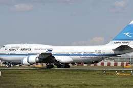 طائرة الخطوط الجوية الكويتية