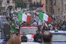 احتجاجات إيطاليا (أرشيفية)