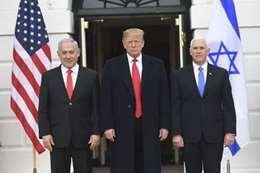 «ترامب» يوقع قرار الاعتراف بسيادة إسرائيل على الجولان